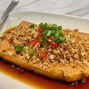 """Handmade Beancurd With """"Chai Po"""" In Hong Kong-Style Sauce   $14.90"""