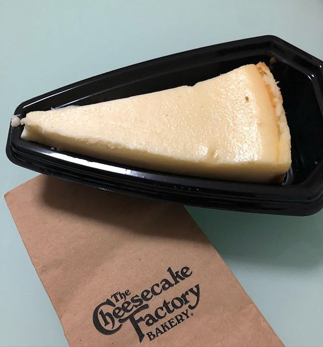 Classic Cheesecake from the Cheesecake Factory (7.90) Good ol cheesecake like when I had it in New York!!!!