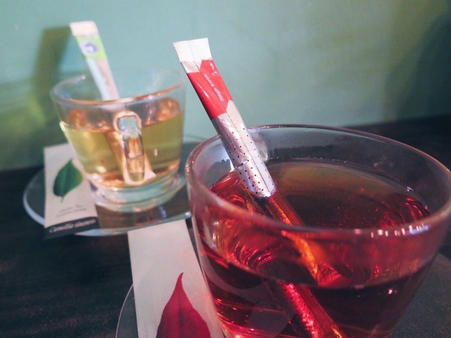 Tea - vanilla peach, green tea lemon grass (refillable)