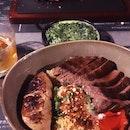 Gyudon And Main Steak
