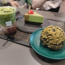 Matcha Chokoreto, Houjicha Pate, Matcha Cheesecake ($19+)
