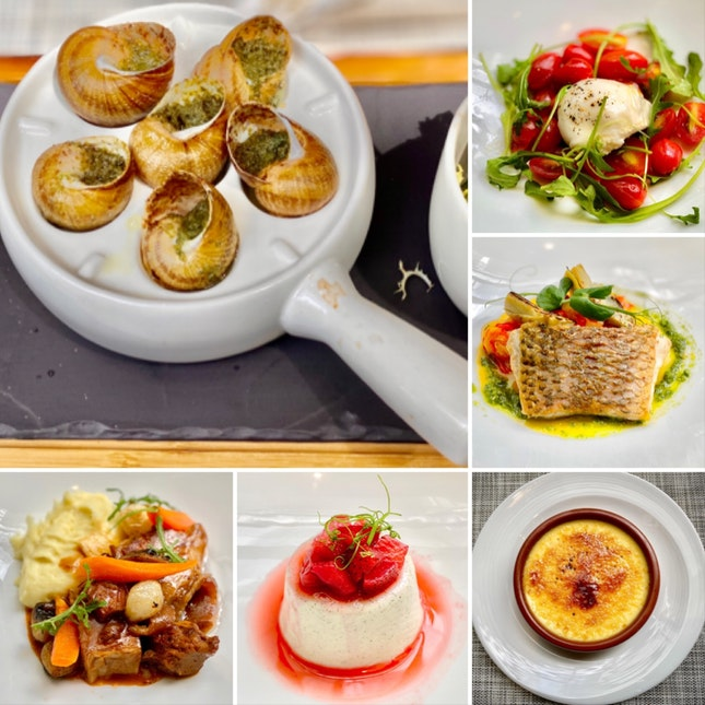 Cuisine française @ St Regis!