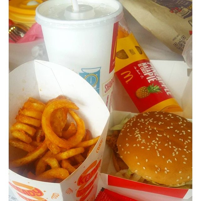 #twisterfries during #cny season ✔checked..