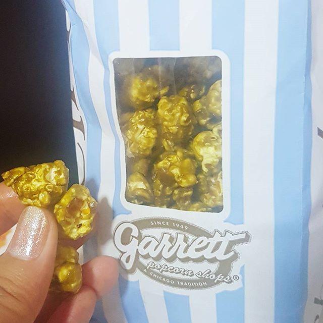 Nom on popcorns on off day.