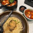 Dry Mushroom Sauce Noodles