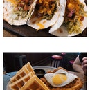 Pulled Pork Tacos / Chicken & Waffles