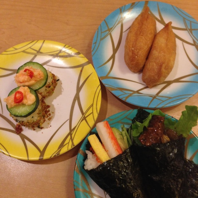 the peak and California roll