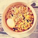 Monday blue Lunchie 🍜🍜 Korean style today😈😈 #insta #ig #love #foodporn #foodstagram #photooftheday