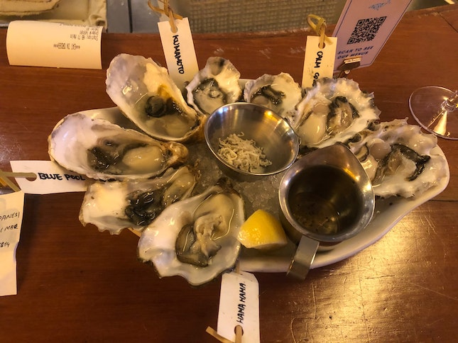 Fresh Oysters With Good Variety
