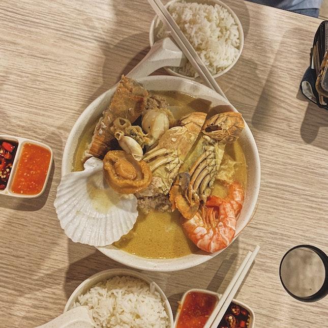 Premium Seafood Soup