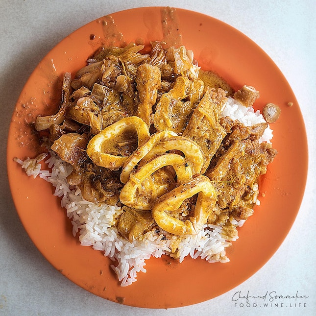 Probably the best Hainanese Curry Rice