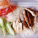 And a chicky rice for lunch muahahaha!