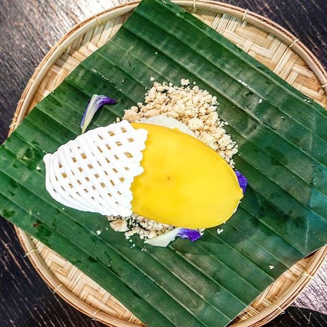 Mango Sticky Rice- THB280.