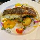 Mains - Fish (Cod/Barramundi) & Mentaiko Pasta
