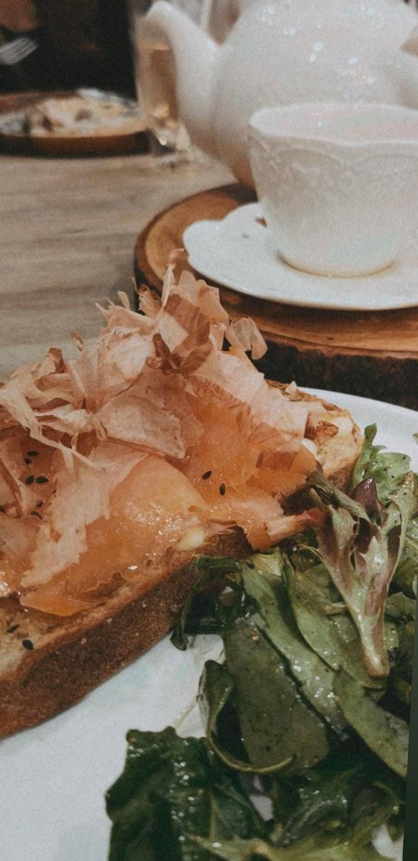 Bonito x Smoked Salmon Toast