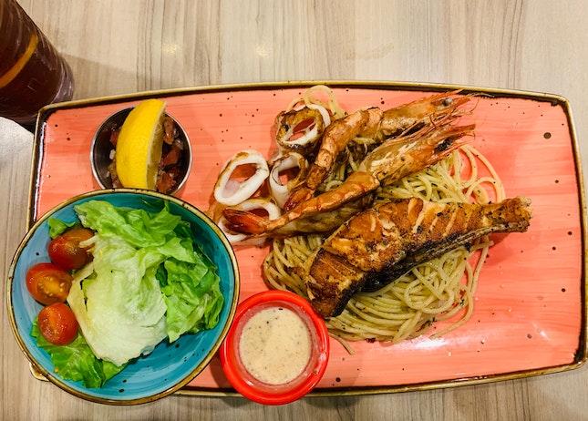 Seafood Main Course