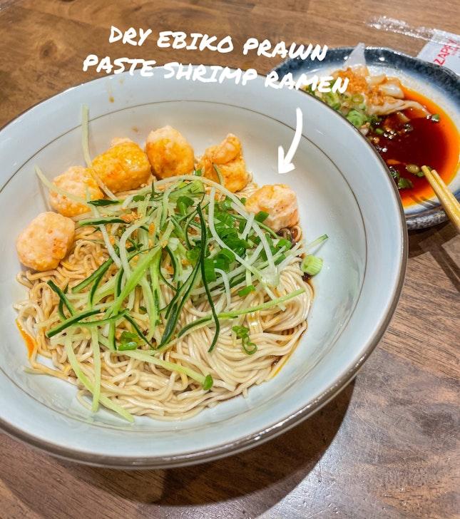 Dry Ebiko Prawn Paste Shrimp Ramen