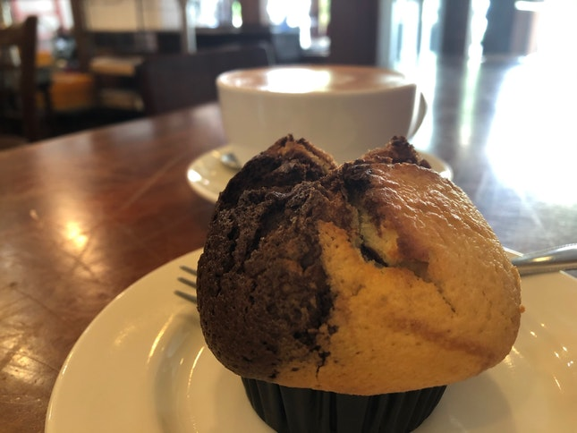 Muffins and Tea Latte