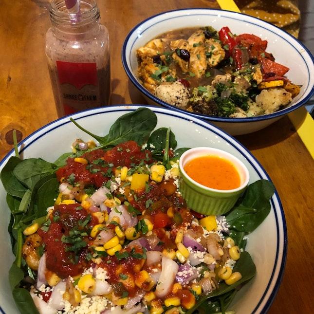 Mexicana and Grandma's Roast Bowl