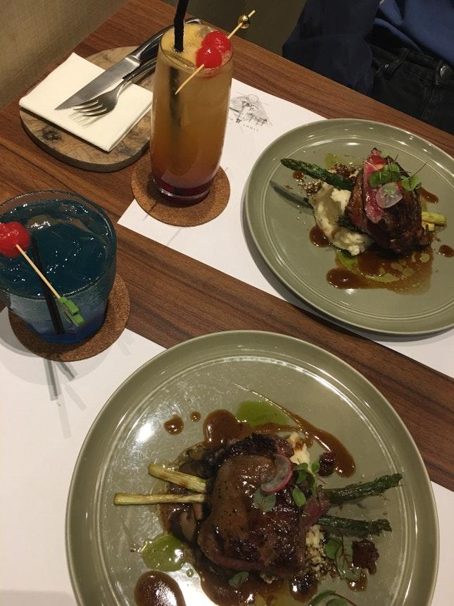 Steak & Mocktails (~$20 With Burpple Deal)