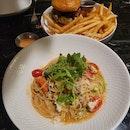 Pasta And Burger