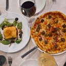 Moussaka & Pizza With Impossible Meat Chilli And Onions