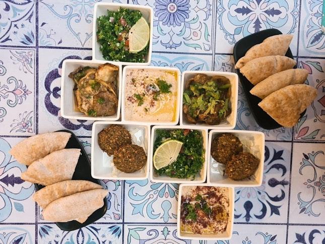 Favourite Mediterranean Food In SG