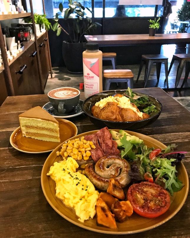 Standard But Comfort Cafe Food