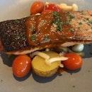 Lunch Set Menu - Grilled Salmon
