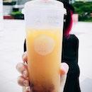 Peach Tea With Earl Grey Jelly ($5)
