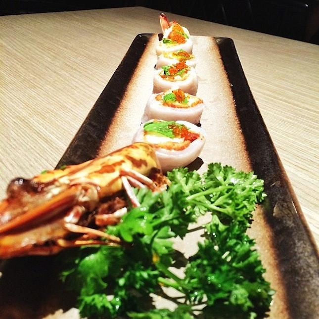 Jumbo Prawn Cheong Fun 大虾肠粉 #prawn #chinese #food #instafood