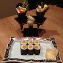 Hand rolls and oshinko maki #japanese #sushi #food #foodporn #instafood