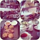 High tea set #high #tea #colonial #british #scones #food #foodporn #instafood
