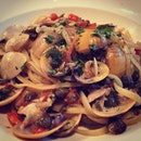 @sophiajung97 Spaghetti Vongole #italian #food #instafood #foodporn