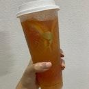 Refreshing Grapefruit Tea