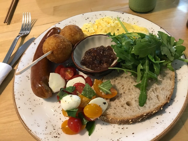 Breakfast Plate [$18.50]
