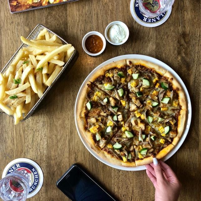 Nasi Lemak Pizza