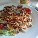 Mixed Chicken And Beef Kebab Rice