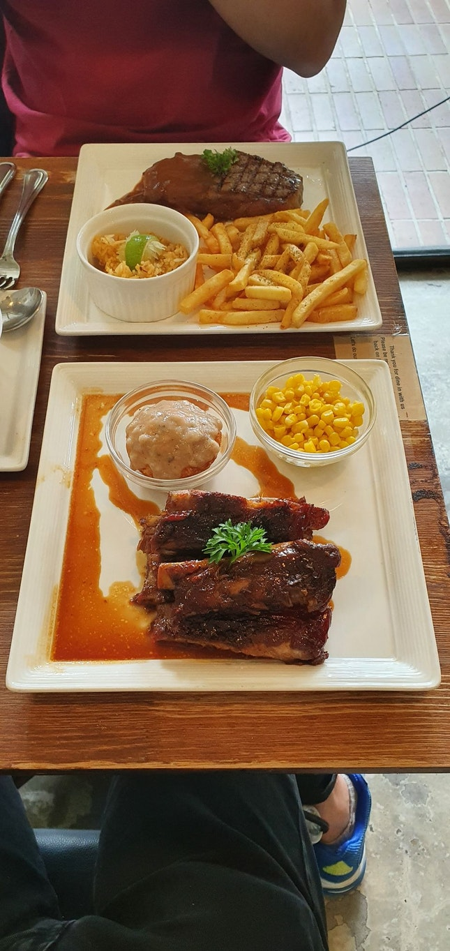 Great food served in a cozy atmosphere