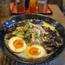 Tonkotsu Ramen King - black spicy .