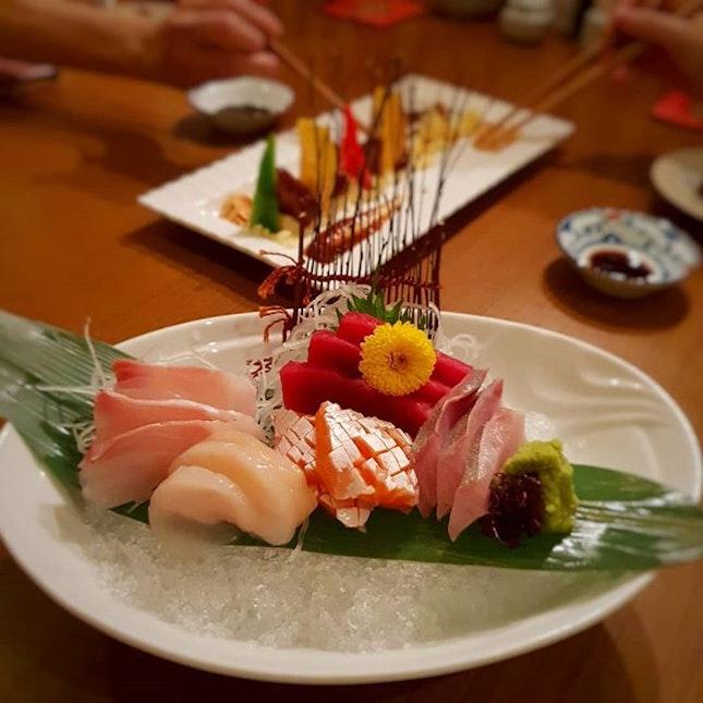 🍣🍢🍙🍘🍥 Hanashizuku Japanese Cuisine @ Cuppage Plaza .