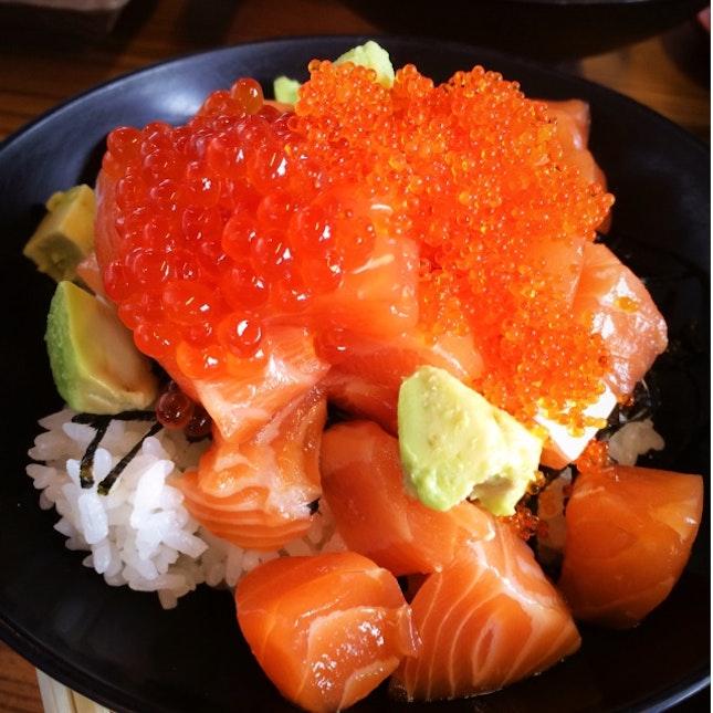 Salmon Ikura Donburi S$15.80++