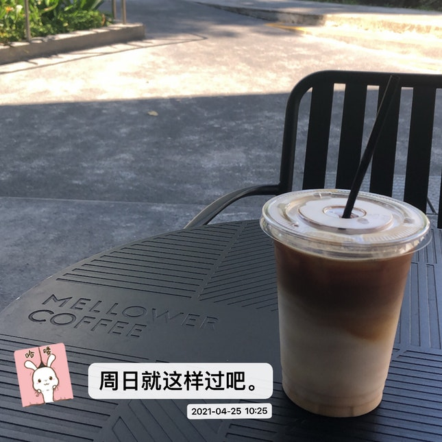 Iced Latte (Oat Milk)  $ 8.1