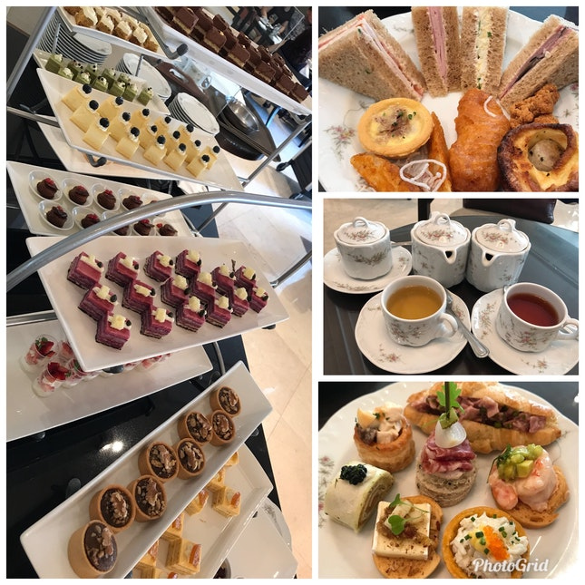 Afternoon High Tea@$48++ Per Pax