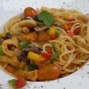 Tom Yam Spaghetti
