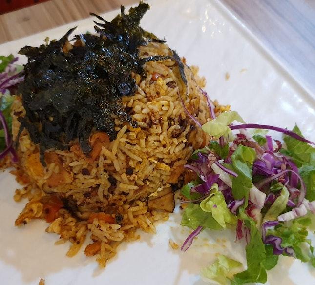 Mala Lion Mane Fried Rice