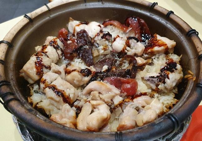 Claypot rice For 2