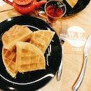 'A waffle is like a pancake with a syrup trap.'