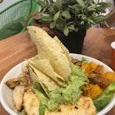 Guacamole And hummus Bowl
