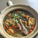 Chinese Mutton Soup.
